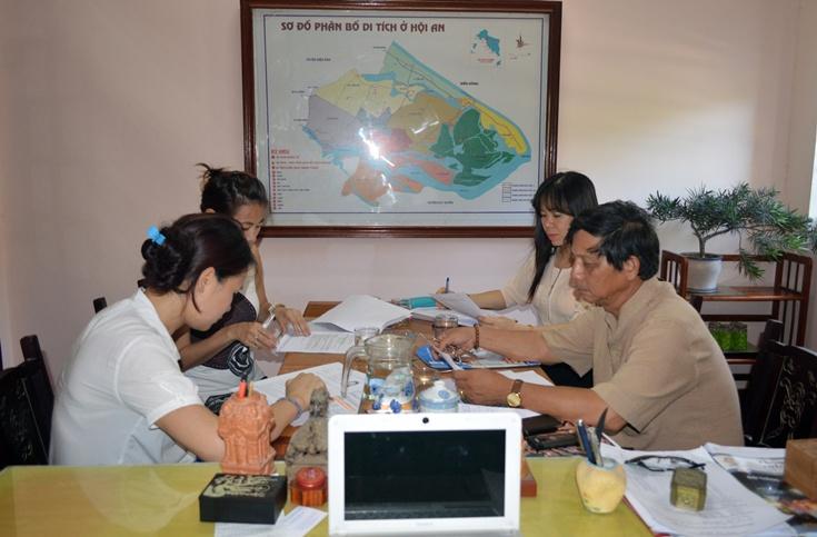 Tiếp và làm việc với bà Yamaguchi Rika - Cố vấn cao cấp chương trình Tình nguyện viên JICA - Nhật Bản